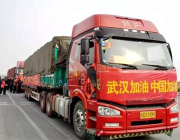 组图丨一方有难八方支援  潍坊寿光350吨新鲜蔬菜驰援武汉
