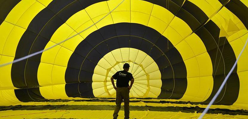 马来西亚槟城举办2020年热气球节