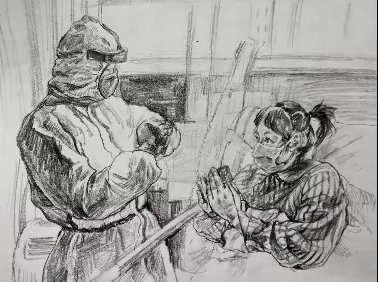 山东济南新闻视频_山东女教师用画笔致敬奋战在抗疫一线最可爱的人_热点新闻_图片 ...