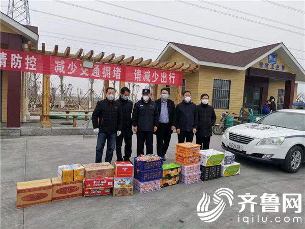 东营港:爱心企业捐赠物资 助力防疫一线勇士