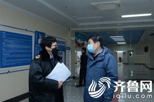 向省督导组专家介绍医院疫情防控工作
