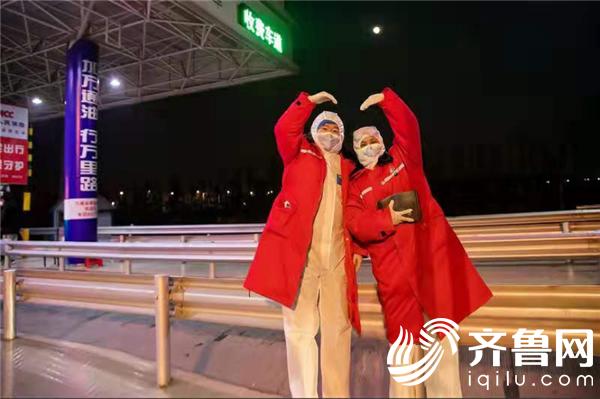 """东营经济技术开发区:夫妻档携手战""""疫""""——邓燕峰"""
