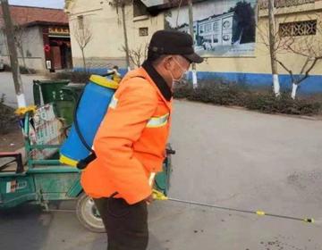 """青州:昔日贫困户 今日感恩助力村里抗""""疫""""一线"""