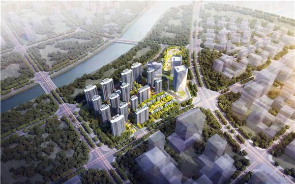 总投资27.29亿元 青岛国信蓝谷综合体项目正式开工