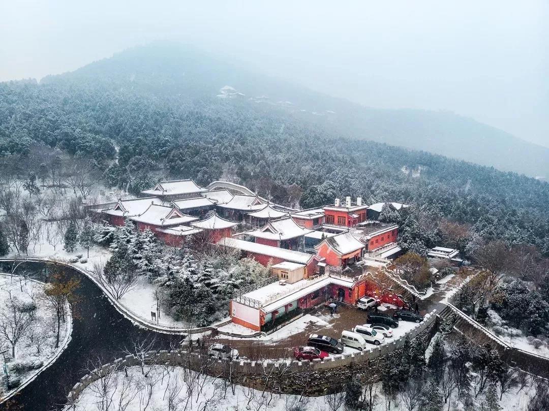 """雪落泉城山水增色 足不出户一起来""""云赏雪"""""""