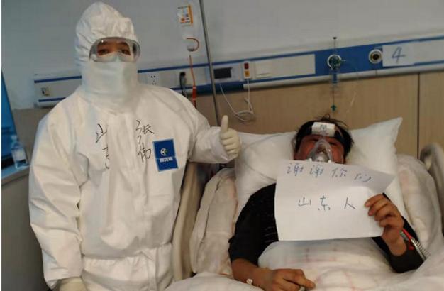 援鄂医疗队员张伟:没有光鲜亮丽,却是最美的样子