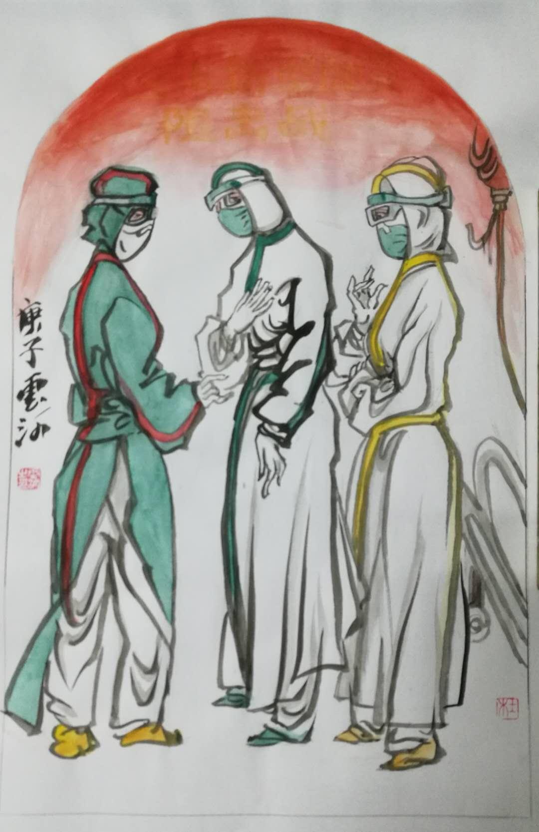 杜云河作品二幅1