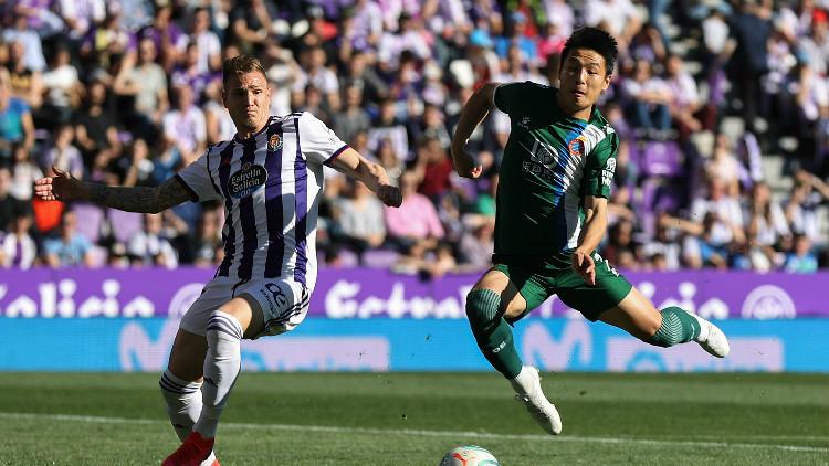西班牙人1-2输球 武磊连续3场首发