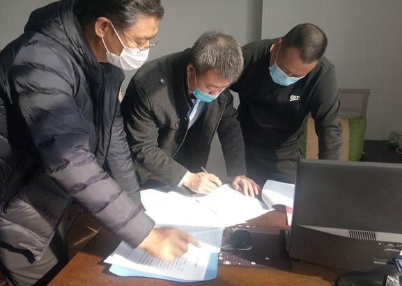 市直赴东营区防疫复工服务队助力企业复工复产加速