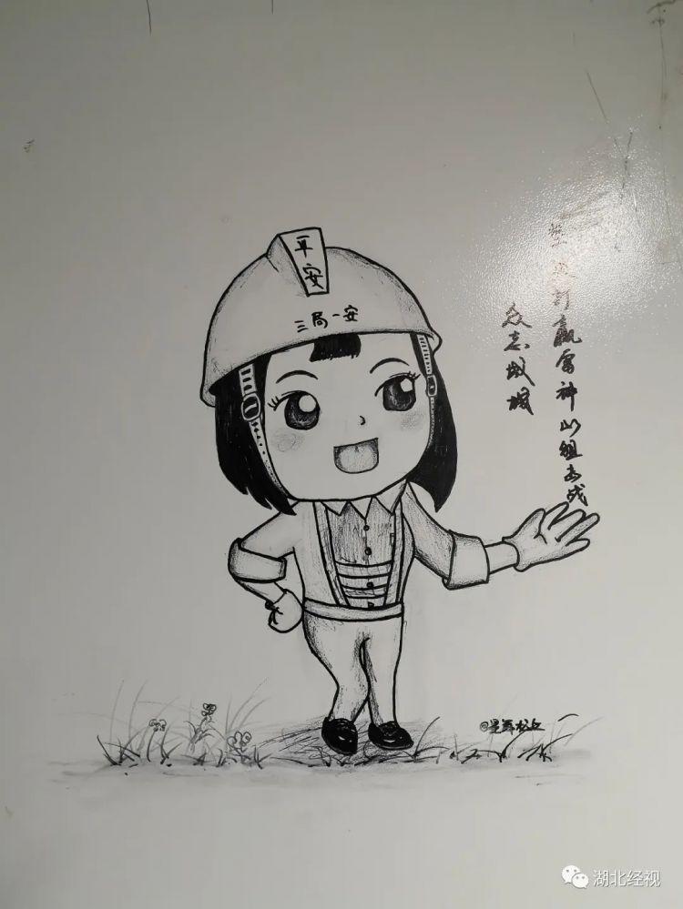 """【你有多美】又暖又好看!雷神山医院走廊变成了""""涂鸦墙"""""""