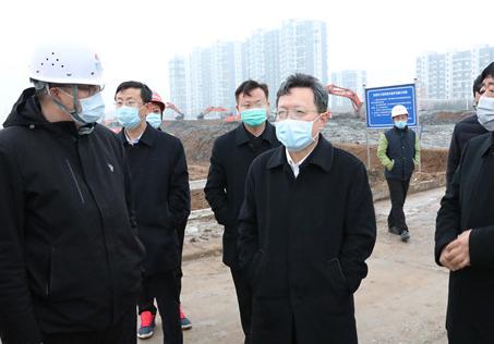 赵志远:加快进度保证质量 全力以赴推进项目建设