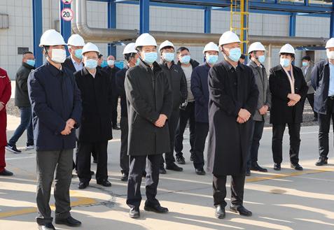 副省长凌文来东营市调研智慧化工园区建设