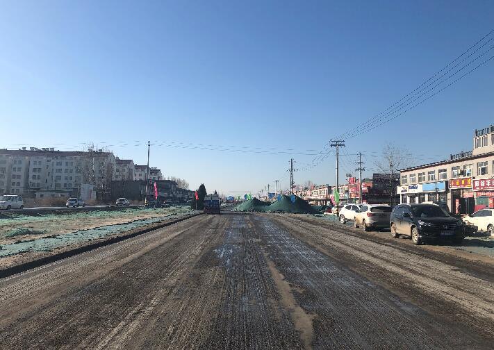 青兰高速聊位路连接线力争7月份建成通车