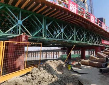 23秒|滨州黄河大桥南岸第一根钻孔桩顺利开钻