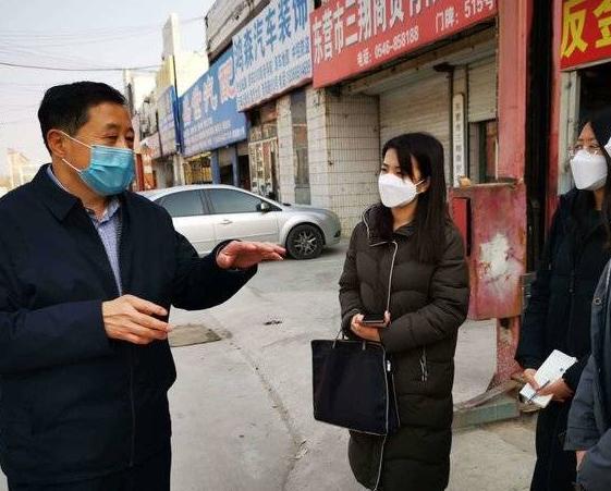 """市直驻东营区第五指导服务队为基层织密了疫情应对""""防控网"""""""