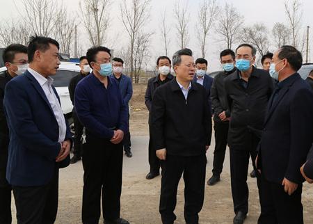 赵志远调研重点水利工程建设
