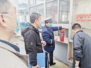 张店消防联合多部门进行春季开学条件核验督查 保障安全复学