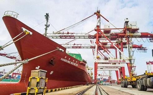 吞吐量同比增长13.8%!威海港一季度实现逆势双增长