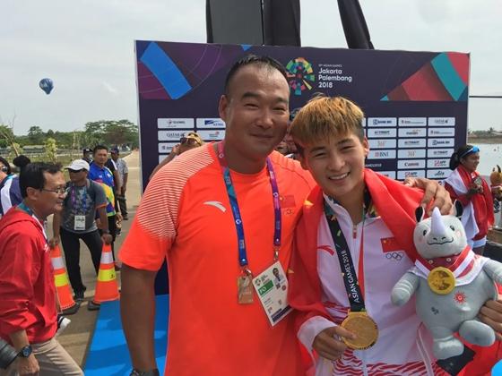 中国皮划艇队山东籍教练景影:用一辈子做好一件事
