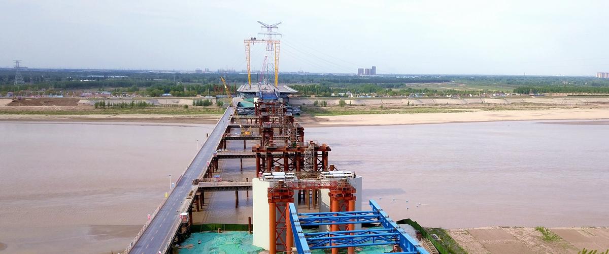 飞吧山东|连破三项世界纪录!齐鲁黄河大桥建设迈向新阶段