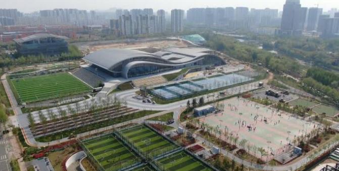日照香河体育公园将于4月30日开园