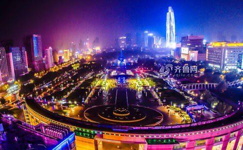 """中国夜间经济地图重新""""亮起来"""""""