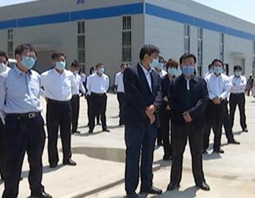 惠民县考察团到沾化区观摩学习