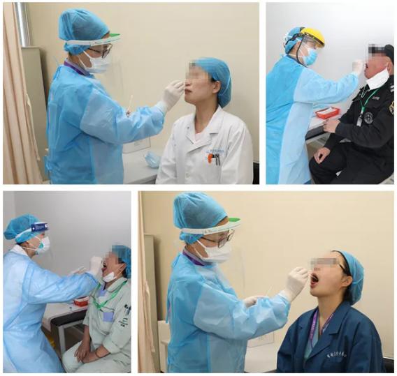 打铁还需自身硬!青岛妇儿医院开展全院工作人员新冠病毒检测工作