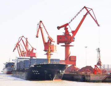 山东港口滨州港打破单货种月度吞吐量记录