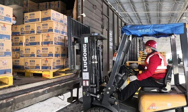 前4月国家铁路发送货物超10亿吨 为疫情防控提供可靠运输保障