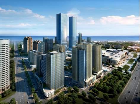 青岛上实中心:从啤酒城到金融城