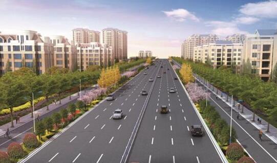 """临沂西城:""""双向十车道""""城市快道贯通南北"""
