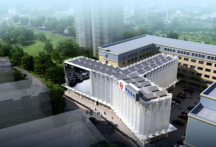 青岛两大停车场主体完工 市立医院停车将进行智能化改造