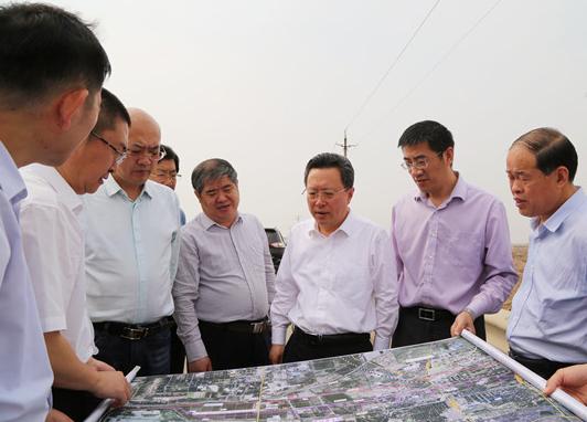 赵志远调研重大交通设施建设项目