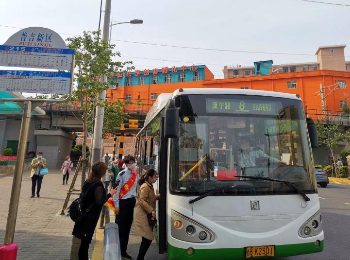 8路公交线增设普吉新区站 近万户居民受益
