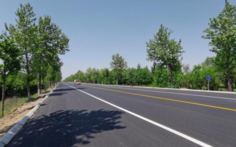 国道308莱西段大中修工程主体完工预计6月底交工验收
