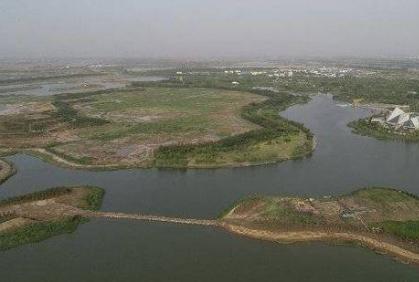 东三路湿地项目主体完工 东城城郊多了一处体验式湿地