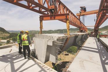 文莱高速威海段主线桥梁全线贯通