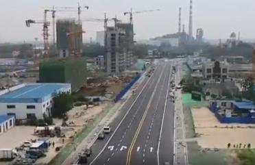 52秒丨滨州博兴博城一路东延已具备通车条件