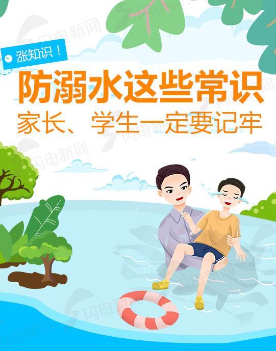 防溺水這些常識 家長學生一定要記牢