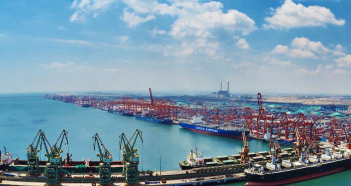 山东港口日照港前1-5月货物吞吐量1.77亿吨