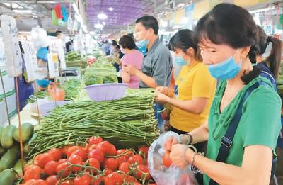 5月份物价水平总体稳定 各地自产鲜菜价格继续下降12.5%