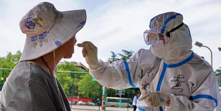 组图丨北京核酸检测超7万人 部分社区实施封闭管理