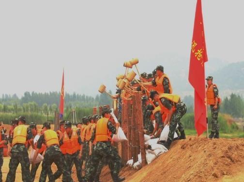 济宁举行2020年防汛抢险应急救援综合演练