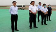 """林峰海来东营市督导""""六稳""""""""六保""""及重点项目建设工作"""