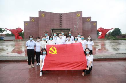 东营移动公司党委书记一行赴红色刘集教育基地开展现场党性教育