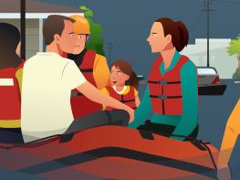 洪澇影響多省 一圖速覽各部委各地救災實錄