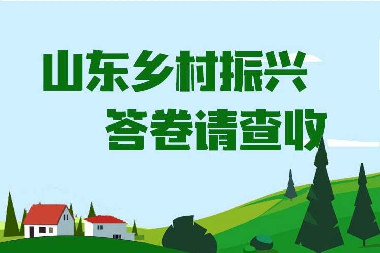 乡村产业更加兴旺、乡村基层组织更加稳固……山东乡村振兴答卷请查收!