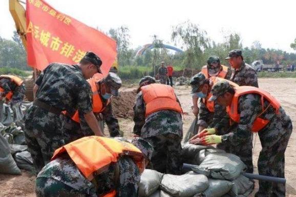东营市垦利区举办2020年防汛抢险应急救援演练