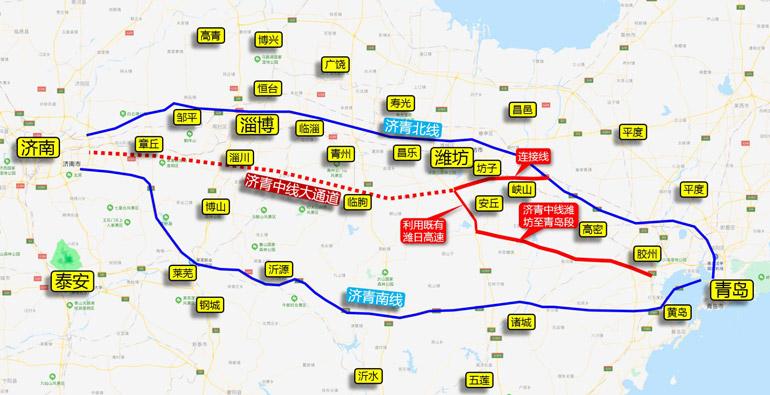 济青中线潍坊至青岛段提前半年启动施工